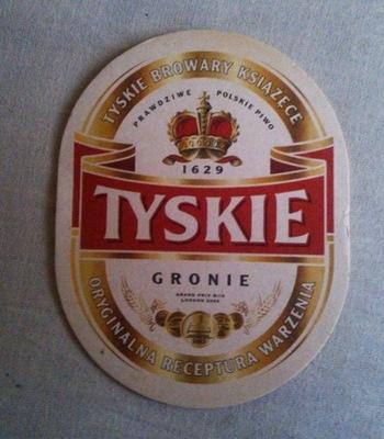 Podstawka z piwa - TYSKIE