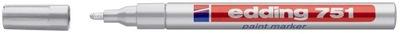 Marker olejowy EDDING 751 srebrny
