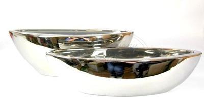 Shell keramické silver Moon DL. 40 cm