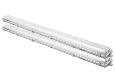 2x Светильник герметичный 120 + 4x люминесцентная лампа LED