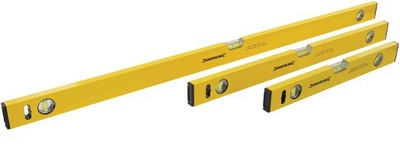 Laserový merač - ÚROVEŇ WASERWAGA ALUMINIOWA KIT 3 PCS