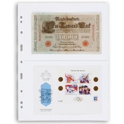 Wkłady do banknotów Leuchtturm Optima 2C