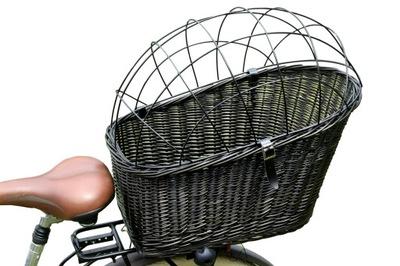 БОЛЬШОЙ Корзина Корзина плетеный НА ВЕЛОСИПЕД багажник 3 цв