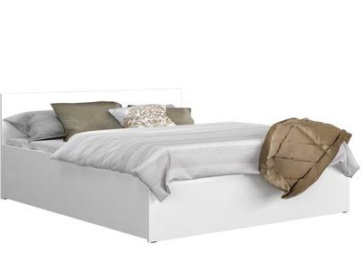 łóżko 160x200 Materac 2szt Szafki Nocne Brw