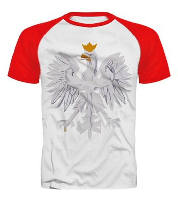 9359bbe1467e2 T-shirt POLSKA r. M - 7479186050 - oficjalne archiwum allegro
