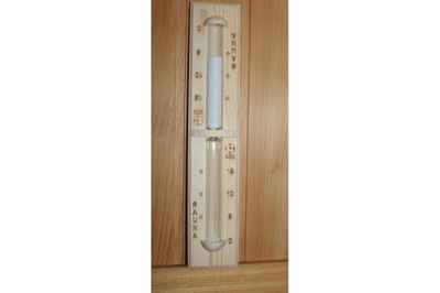 Сауна песочные часы часы для сауны Sawo 551-P Сосна
