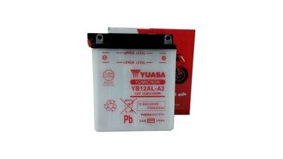 AKUMULATOR YUASA MOTOCYKLOWY YB12AL-A2 12V 12Ah