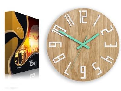 современный часы настенный Дуб КАЧЕСТВО уникальный