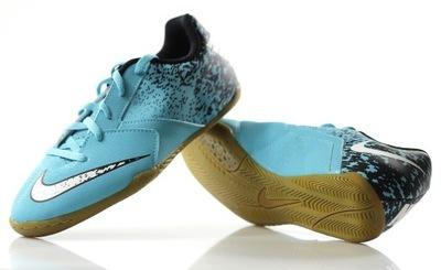 buty halowe nike bombax ic niebieskie
