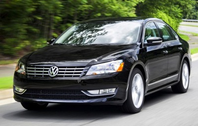 молдинг хром решетки vw passat b7 usa 2011-2015, фото 2