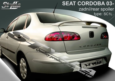 СПОЙЛЕР АНТИКРЫЛО DO SEAT CORDOBA MK2 09/2002--