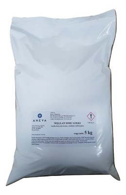 СОДА ЛЕГКАЯ kalcynowana карбонат натрия 5кг Продукт