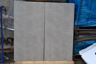керамогранит плитка бетон Серый 60x120 ВЫХОД Цемент