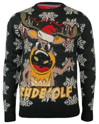 d5c142dcbf Świąteczny sweter - Allegro.pl - Więcej niż aukcje. Najlepsze oferty na  największej platformie handlowej.