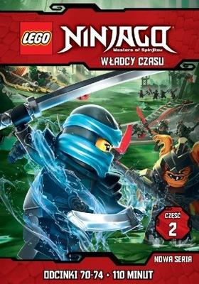 Lego Ninjago Władcy Czasu Część 1 Dvd Odc 65 69 7723998259