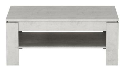 современный журнальный столик с полкой бетон ??? спальни BASIC