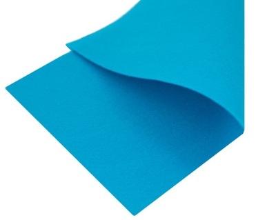 Синий Мягкий войлок 1мм на ЛИСТАХ 30 x 23см
