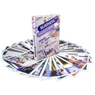 VOCAbite Business Photo Cards - karty konwersacji