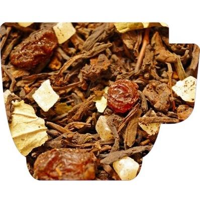 Herbata czerwona pu-erh - FIGA INDYJSKA - 50g