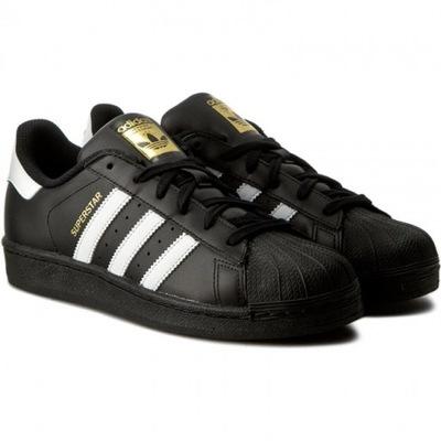 buty adidas superstar damskie czarne z futrem