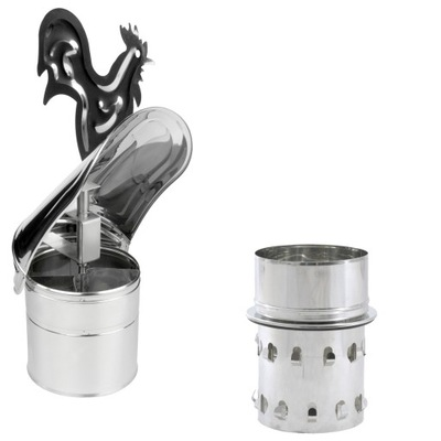 Strażak do komina ceramicznego fi 200 kwasoodporny