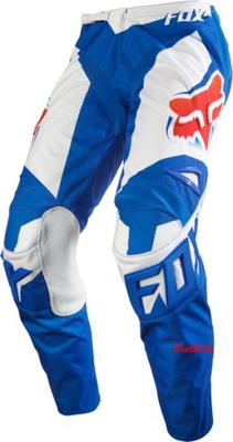 Spodnie FOX RACE6 cross BLUE red 32 M EnduroMX_pl