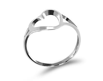 eff330df1ee0ee Ażurowy srebrny pierścionek z cyrkoniami 14 - 7238123298 - oficjalne ...