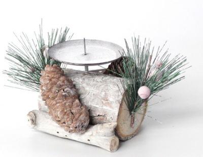Рождественские украшения Подсвечник 1 свечи