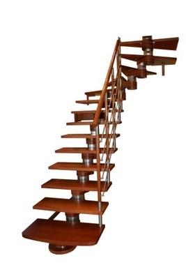 Лестница КОРА модель Морено 180 Lux Л -90 12 элементов