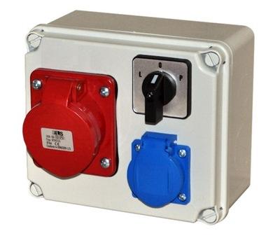 Распределительное устройство СТРОИТЕЛЬНАЯ 32A 4P 230 выкл L0P