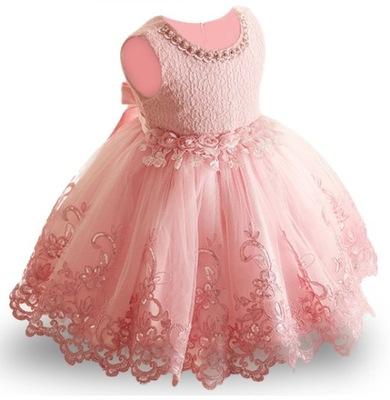 d1e4b034 Weselna sukienka dla dziewczynki 158 Tiulowa Szara - 7600153622 ...