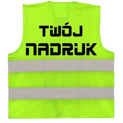 жилет светоотражающая реклама логотип надпись надпись
