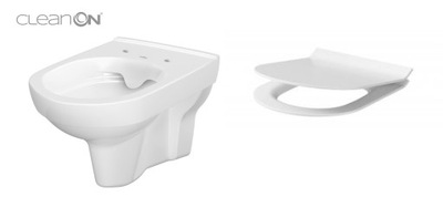 WC misa - CERSANIT WISZĄCA CITYAN CLEAN NA PALUBE SLIM WO