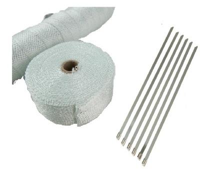 Повязка тепловая лента на выхлоп коллектор + повязки, фото