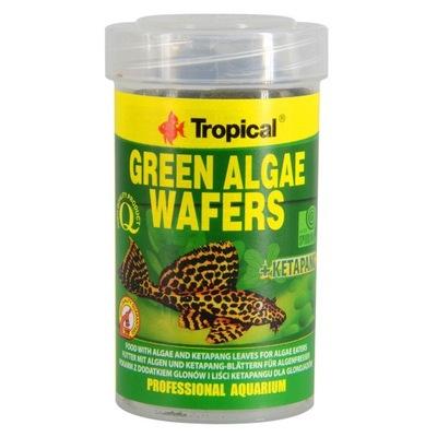 Tropical корм GREEN ALGAE WAFERS 1000ml удаление ???