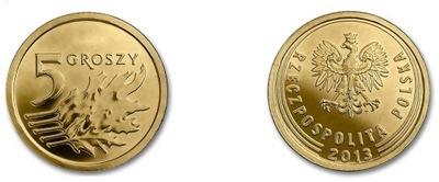 2013 - 5 копеек Royal Mint - РЕДКИЙ Выпуск Англия