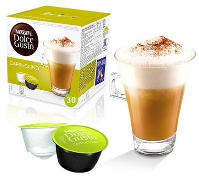 Dolce Gusto кофе Капучино XXL 30 капсул 15 кофе,