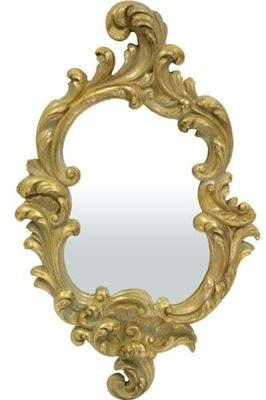 Štýlové retro zrkadlo GOLE 65520 zlaté