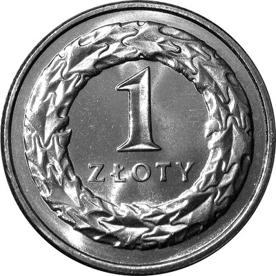 1 zł złoty 2020 mennicza z worka lub rolki