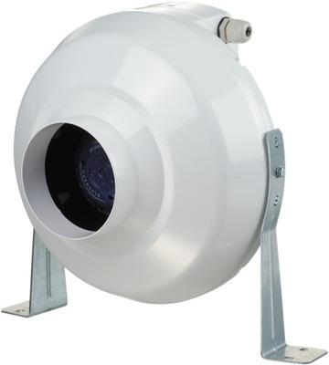 Ventilátor - KANÁLOVÝ VENTILÁTOR 250 m3 / h VENTY VK 100 mm
