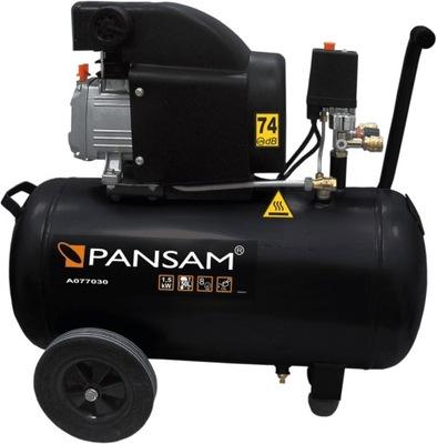 Kompresor, príslušenstvo - KOMPRESOR KOMPRESOR 50L PANSAM A077030 OLEJ 2Lg