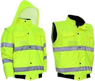 куртка зимняя рабочая утепленная года.XL светоотражающая