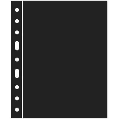 Leuchtturm - przekładka czarna Optima ZWL