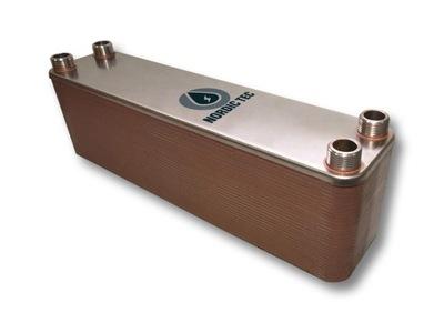 Výmenník tepla s objemom 55 kW 50-doska 3/4 NORDIC Zes SK