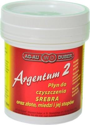 ARGENTUM 2 жидкость для чистки Серебра, Золота 140ml