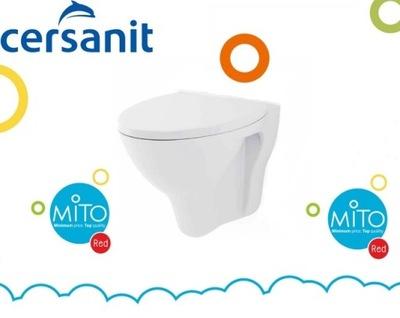 WC misa - Cersanit MITO WC závesné závesné sedadlo