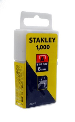 скобы степлер  Стэнли 8 мм 1000шт. TRA205T1