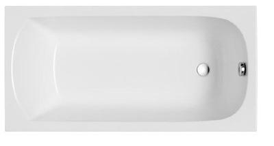 BATHTUB obdĺžnikový rám nôh 120x70