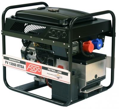 Fogo FV13000RTE 9kW benzín, generátor AVR