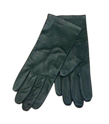 703c329e0eb98 WITTCHEN damskie skórzane rękawiczki XL zielone